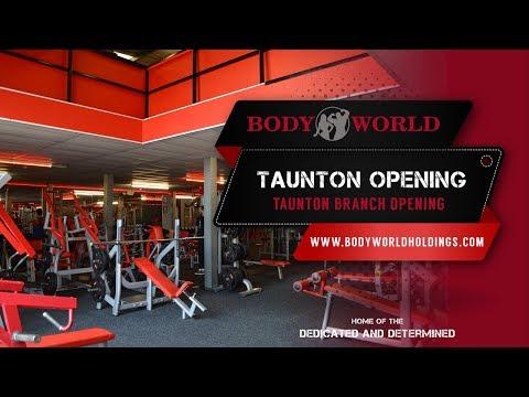 Bodyworld - New Taunton Gym Opening