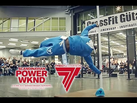 SCANDINAVIAN POWER WKND: video relation from Trec Nutrition stand
