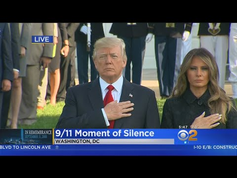 16th Anniversary Of Sept. 11 Attacks Marked With Moment Of Silence