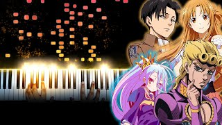 Download Playing the Most Iconic Anime Songs on Piano (1 Million Subscribers Special)