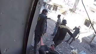 Heavy bombardment hits several towns in East Ghouta