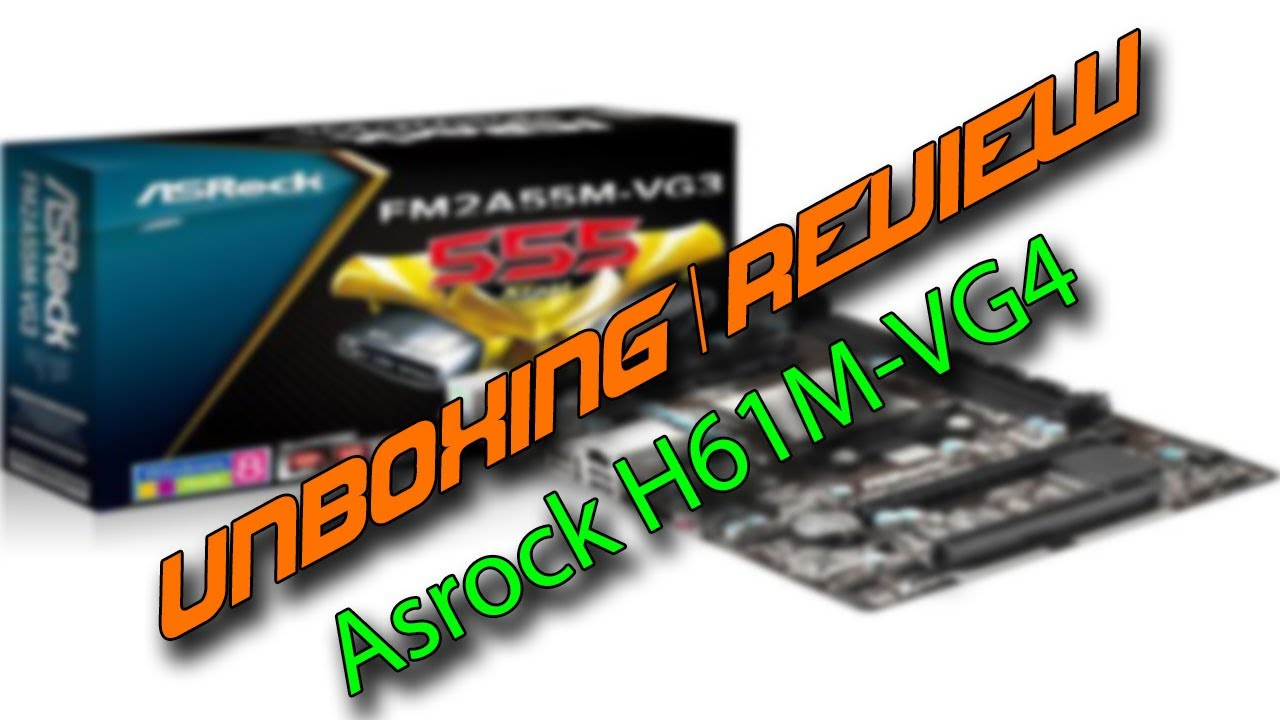 ASRock H61M-VG4 Drivers Download