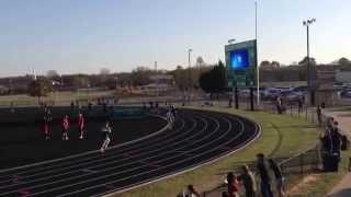 azle high school 2014 track meet 800m event