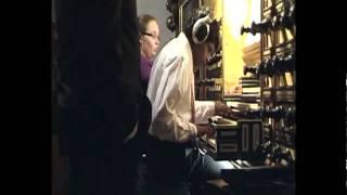 Tjaco van der Weerd improviseert over Psalm 80 aan het Hinsz orgel van de Bovenkerk