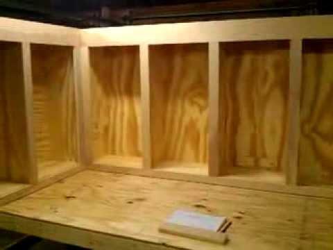 Homemade cabinets DIY 2  YouTube