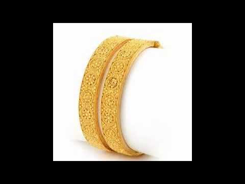 Gold Bangle Designs YouTube