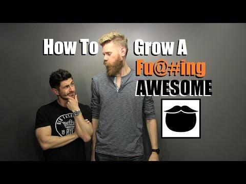 How To Grow A Fu#king AWESOME Beard |Top 10 Pro Tips With Beardbrand