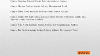 Global Sodium Selenite Market Trends, Challenges and Growth Drivers Analysis 2021