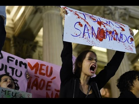 Brazilians outraged after 16 year-old gang raped in favela