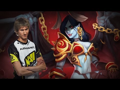 Dendi plays for Queen of Pain -  Commentary + Web Cam - public (22.08.2014)