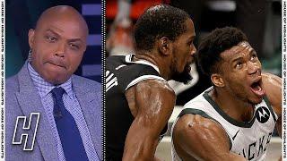 Inside the NBA Reacts to Bucks vs Nets Game 7 Highlights | 2021 NBA Playoffs