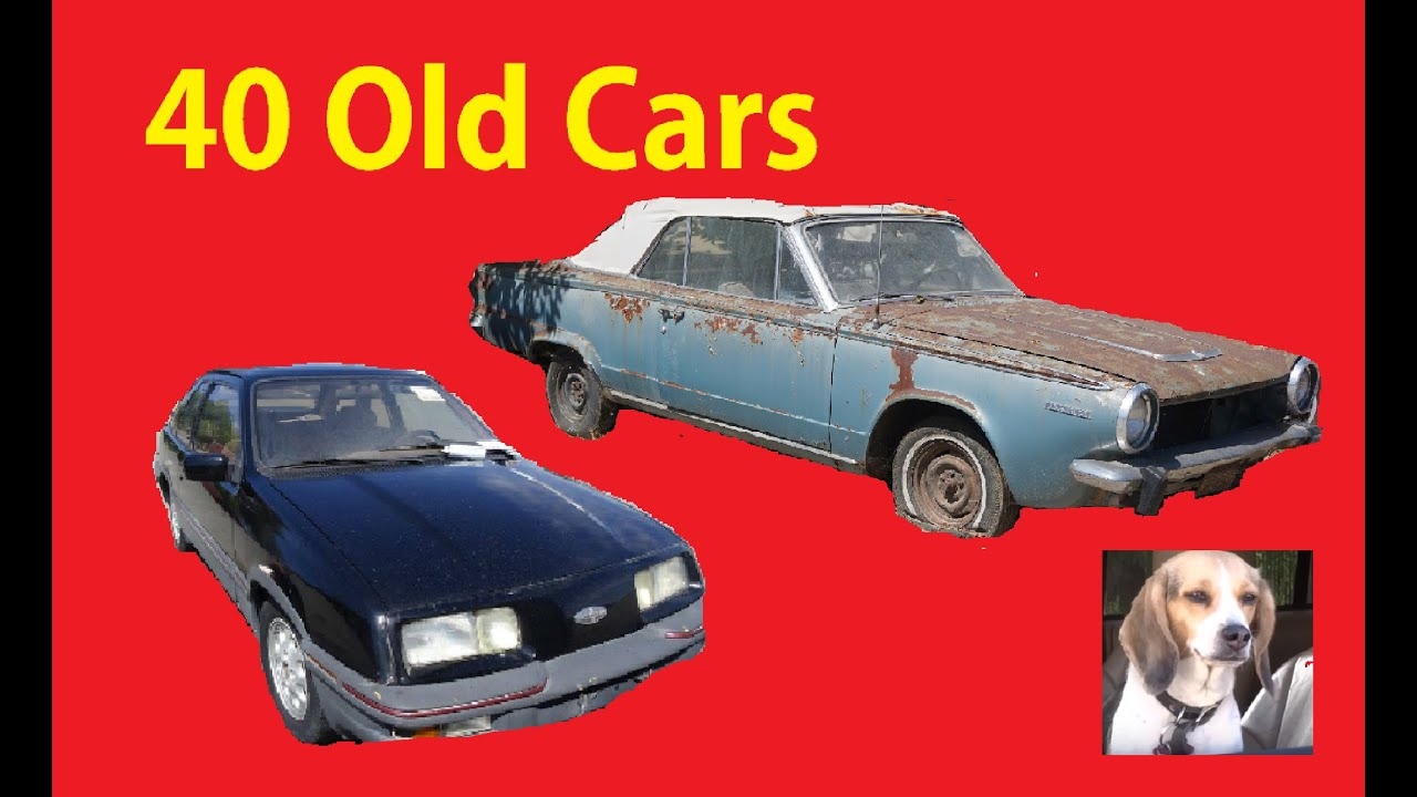 Classic Barn Find Car Lot Walkaround Old Cars Project For Sale #2 ...