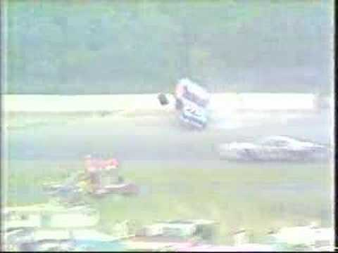 Richard Petty Pocono Crash