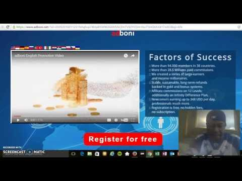 Adboni HOW TO REGISTER WITH ADBONI FOR FREE Full ENGLISH Review By Watson Maze !!