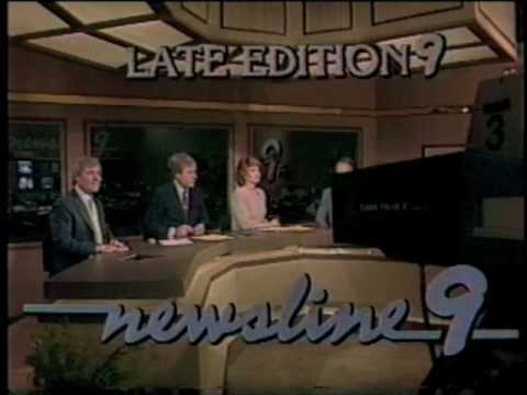 KWTV NEWSLINE 9 1984-LATE EDITION MONTAGE