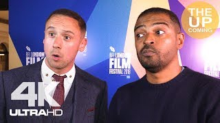 Jason Maza and Noel Clarke on The Fight and Jessica Hynes at London Film Festival premiere