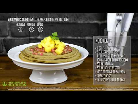 recette-de-crêpes-herbalife-nutrition