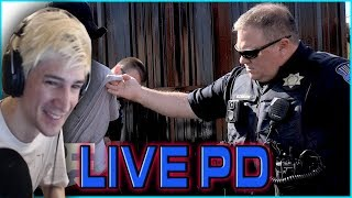 XQC Reacts To Live PD #3 (WITH CHAT)