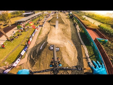 BIG SLOPESTYLE MTB CONTEST in CHENGDU, CHINA!