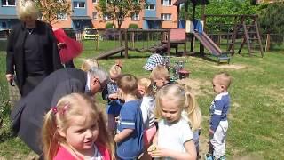 Burmistrz odwiedził przedszkolaki z Ptysia