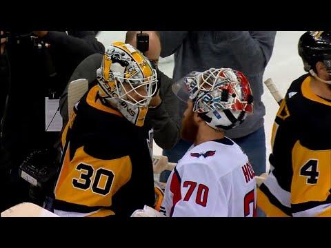 Handshakes: Capitals Finally Send Penguins Home