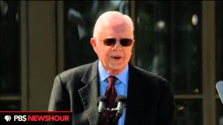 Watch President Jimmy Carter Deliver Remarks at the Dedication of the George W. Bush Library