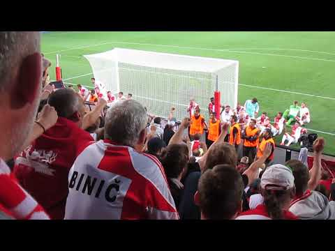 SK Slavia Praha – APOEL FC   23.08.2017 děkovačka