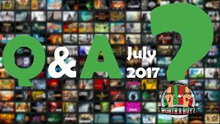 Q&A 2017 - I answer your questions