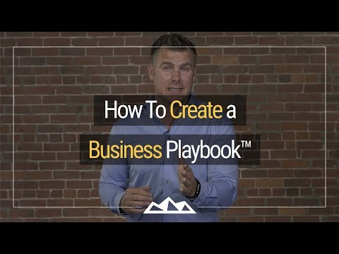 How To Create a Business Playbook™ | Dan Martell