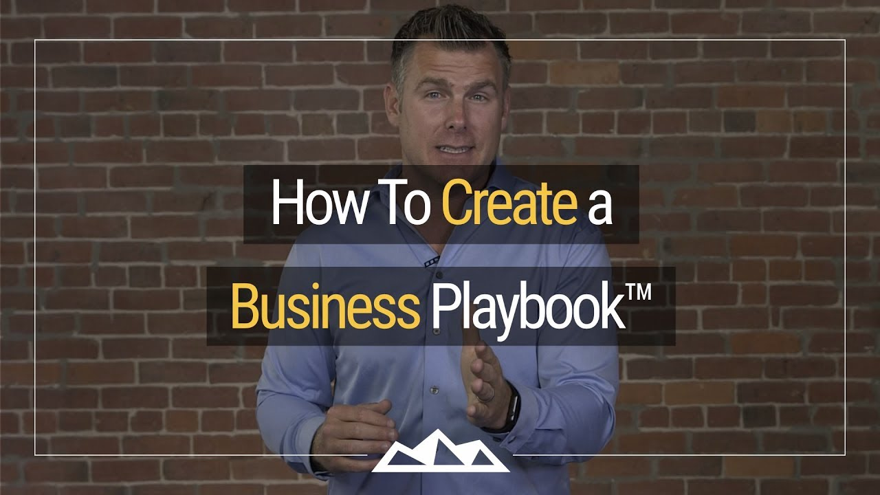 How to create a business playbook dan martell youtube how to create a business playbook dan martell cheaphphosting Image collections