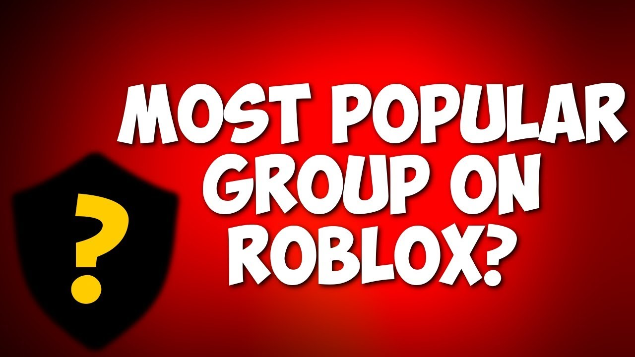 Most Popular Roblox Group 2800000 Members Youtube