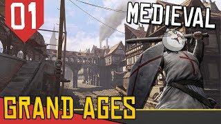 Começando Direito- Grand Ages Medieval #01  [Série Gameplay Português PT-BR]