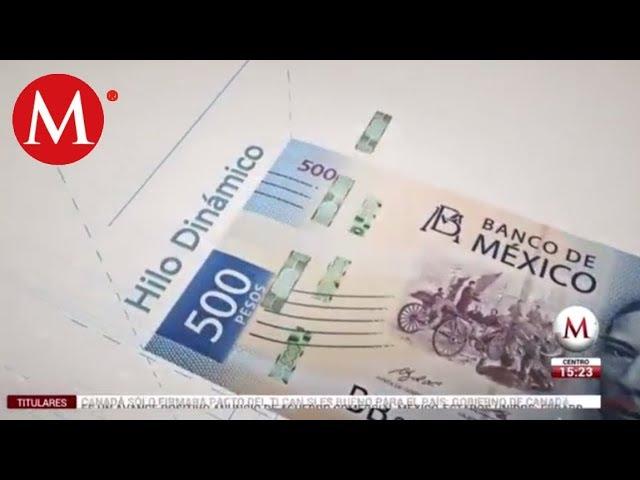 Así es el nuevo billete de 500 pesos