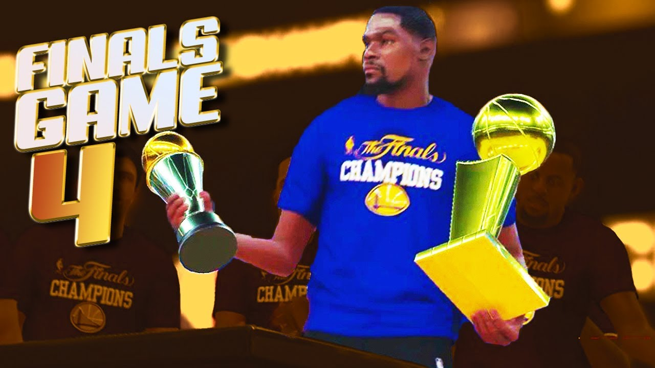 Warriors SWEEP The CAVS in Finals Game 4? - NBA 2K18 Predictions