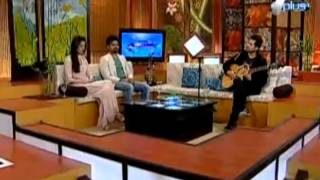 Falak singing Live on TV