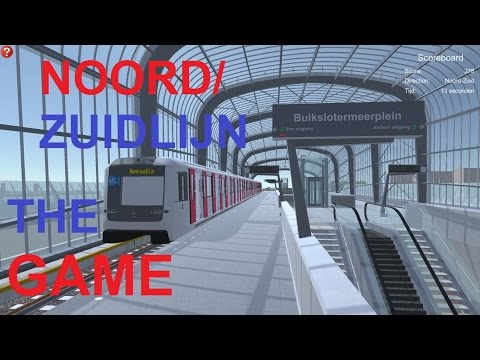 Noord/Zuidlijn The Game - Metro Simulator Amsterdam