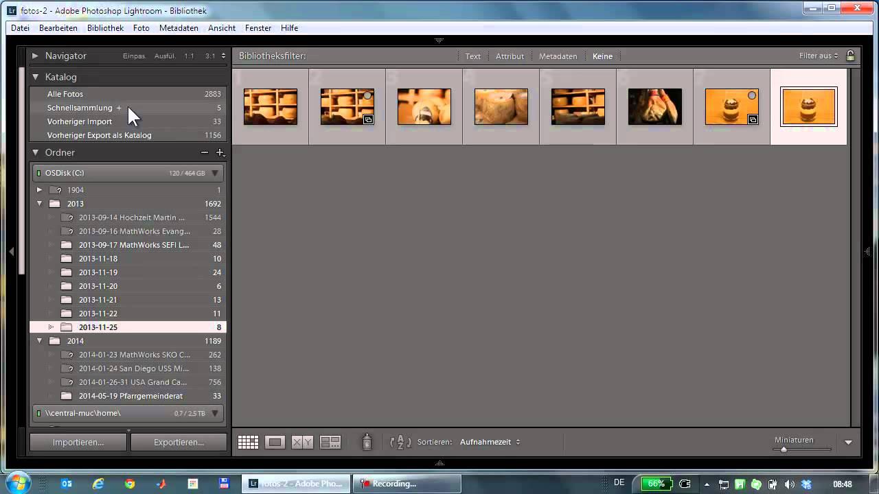 fotos aus lightroom auf einen usb stick exportieren youtube. Black Bedroom Furniture Sets. Home Design Ideas