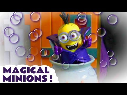 Funny Minions Magical Halloween Toy Stories With Disney Cars McQueen & Kids Thomas And Friends TT4U