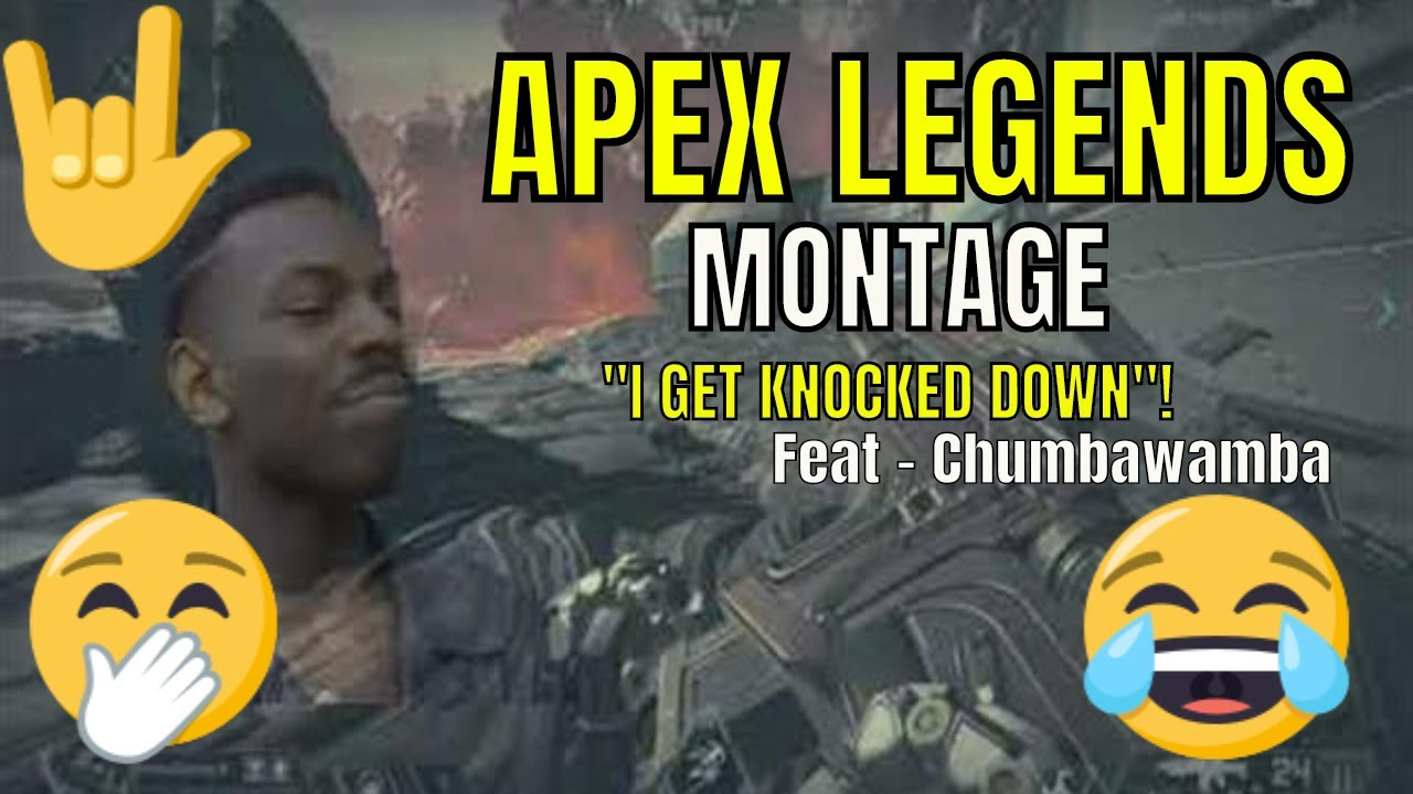 Apex Legends compilation - I get knocked down!