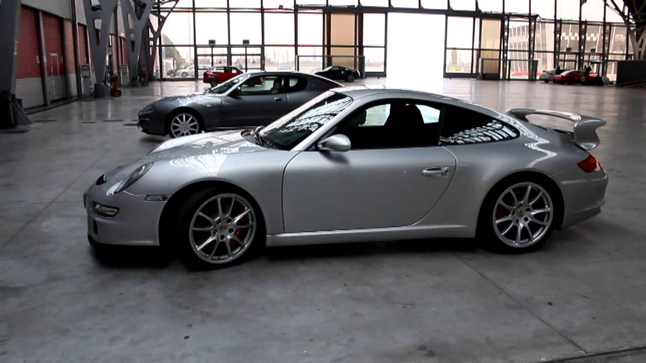 2008 Porsche GT3 36 and 38 Start Up Exhaust and Exterior Review