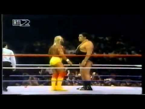 WWF Hall Of Fame Classic  Andre The Giant Induction Video