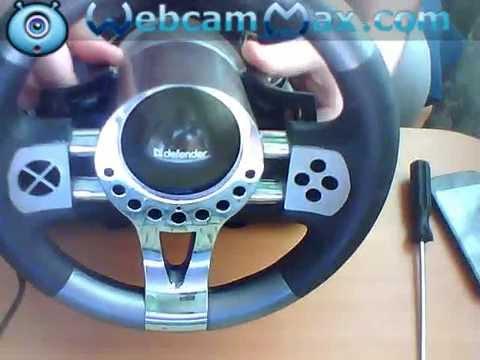 видео: игровой руль для ПК свойми руками