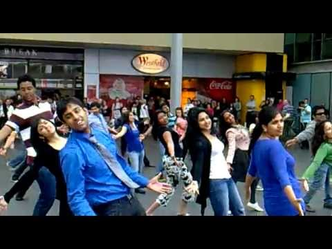 Why this Kolaveri Di - Auckland Flash Mob.mp4