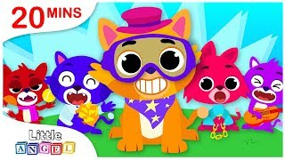 5 Little Kittens, Princess Songs, No No Safety Tips, Christmas Carols by Little Angel