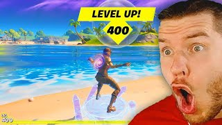 level 400 in Fortnite LIVE!