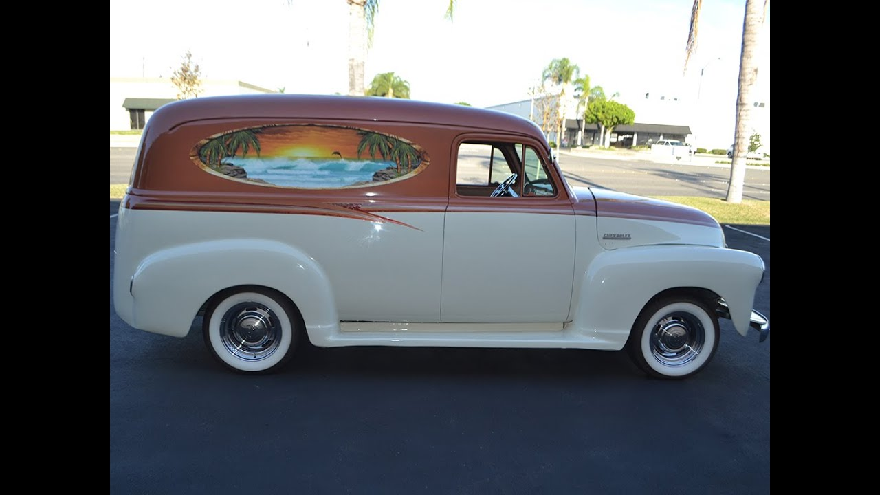 Sold 1951 chevrolet panel truck youtube