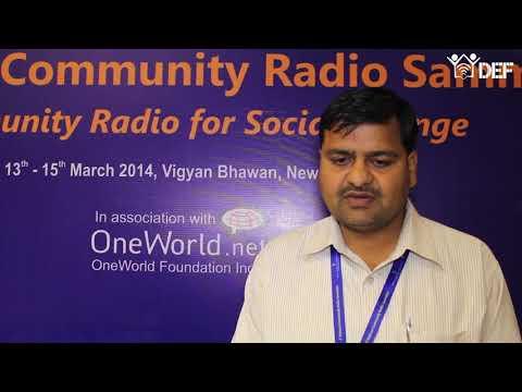 Ashish Kumar Bajpai, Ghazipur Community Radio, Uttar Pradesh   YouTube