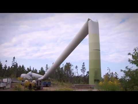 Cape Breton wind turbine collapses during maintenance