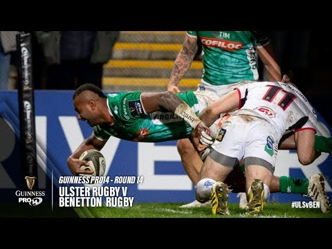 Guinness PRO14 Round 14 Highlights: Ulster Rugby v Benetton Rugby