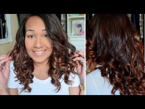 Ombre hair chocolate cabelo curto